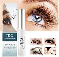 Feg eyelash enhancer для роста ресниц Оригинал Голограмма