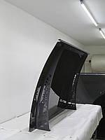 Козырек. Металевий збірний дашок Dash'Ok Фауна 2,05м*1,5м з монолітним полікарбонатом 3мм