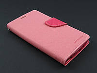 Чехол книжка Goospery для LG Optimus G3 Stylus D690 розовый