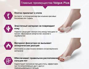 Корректоры(сепараторы) косточек на ногах (вальгус-корректор) на 2 пальца (пара), фото 2
