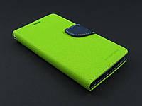 Чехол книжка Goospery для LG Optimus G3 Stylus D690 зеленый