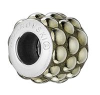 Шармы Pandora style. Сваровски бусины Crystal Metallic Light Gold A HF (001 MLGLD) (упаковка 12 шт.)