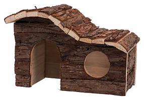 Trixie  TX-62051  дом из натурального дерева  для грызунов  26 × 16 × 15 см