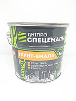 Грунт-фарба антикорозійна 3в1 ГРАФІТ 2,8 кг ДНІПРОСПЕЦЕМАЛЬ