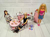"""Набор игровой мебели """"Кухня""""  8 предметов для куклы 30 см Деткам от 2-х лет"""