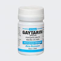 Гайтарин - Гипертиреоз, гипотиреоз, зоб./Arya Aushadhi / 100 таб