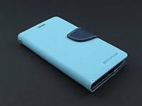 Чехол книжка Goospery для LG Optimus G3s D724 голубой