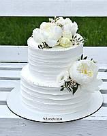 Весільний  елегантний торт   ( Свадебный торт)