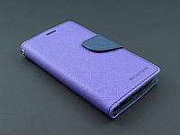 Чехол книжка Goospery для LG Optimus G3s D724 фиолетовый