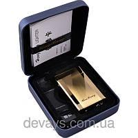 Электроимпульсовая USB зажигалка HB №4340,зажигалки, без огня. с аккумулятором, без пламени, подарочная зажига