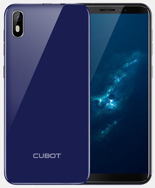 Cubot J5 blue