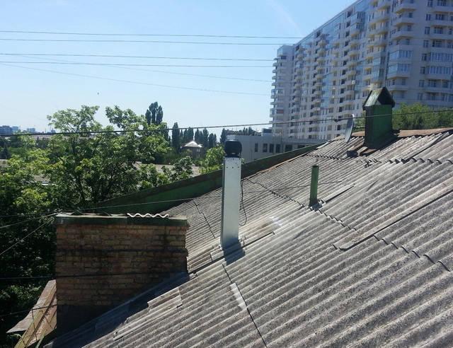 Естественная и механическая (вентилятор) вентиляция квартиры.