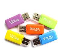 MicroSD card reader, адаптер для USB