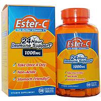 Витамин С (Vitamin C)  Эстер С биофлавоноиды Nature's Bounty 1000 мг 120 таблеток
