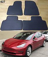 Коврики на Tesla Model 3 '17-. Автоковрики EVA, фото 1