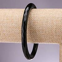 Агатовое кольцо , браслет d- внутр. 68мм d-86мм s-8мм