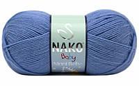 """Пряжа Nako Ninni Bebe """"271"""" Детская для Ручного Вязания"""