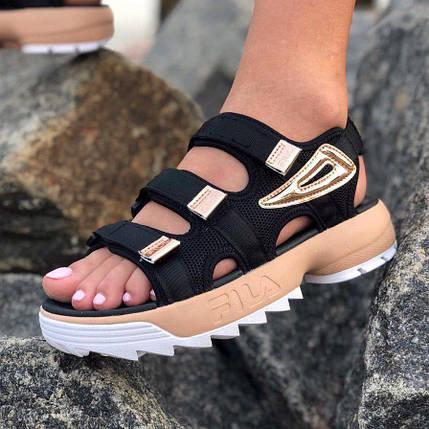 Сандалии женские Fila Disruptor Sandals (3 ЦВЕТА!), босоножки fila, женские сандалии, фото 2
