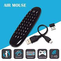 C120 Air mouse беспроводной Пульт ДУ аэро мышь с гироскопом для смарт тв tv box русская клавиатура