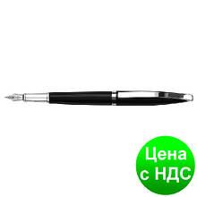 Ручка перьевая Monaco, корпус черный с серебристым O15921-01