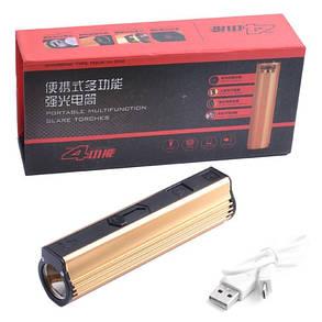 Фонарь Police 818-XPE, USB power bank, зажигалка, фото 2
