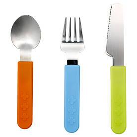 IKEA, SMASKA, Набор столовых приборов, 3 предмета (701.375.75)(70137575) СМАСКА ИКЕА