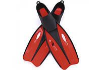 Bestway 27024-red, ласты для плавания, красные, 42-44р, фото 1