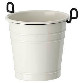 IKEA, FINTORP, Сушилка для стол приб, белый, черный, 13x13 см (002.020.79)(00202079) ФИНТОРП ИКЕА