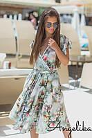 Женское летнее платье №493-2 (р.42-46), фото 1