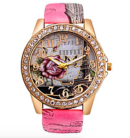 Часы женские кварцевые Орлеан Pink 72657