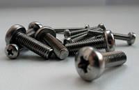 Винт с  цилиндрической головкой М 4х16 DIN 7985 нержавеющая сталь А2