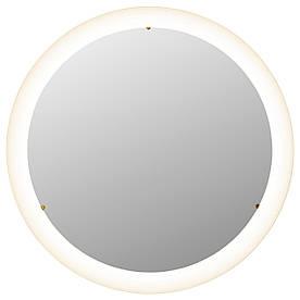 IKEA, STORJORM, Зеркало с подсветкой, белый, 47 см (502.481.26)(50248126) СТОРЙОРМ ИКЕА