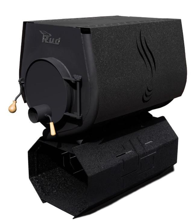 Печь-булерьян Rud Pyrotron Кантри 03 с варочной поверхностью (черный)