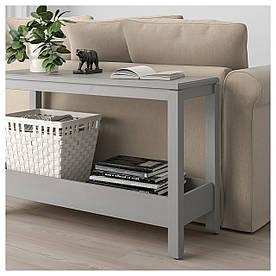 IKEA, HAVSTA, Консольный стол, серый, 100x35x63 см (604.225.49)(60422549) ХАВСТА ИКЕА