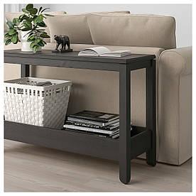 IKEA, HAVSTA, Консольный стол, темно-коричневый, 100x35x63 см (404.041.98)(40404198) ХАВСТА ИКЕА