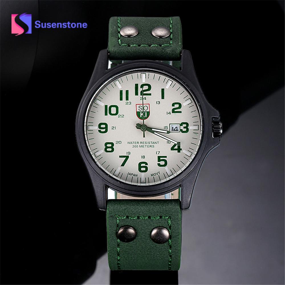 Мужские наручные часы Military Soki Green 72662