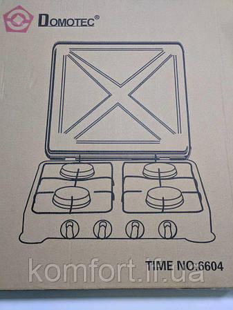 Газовая плита Domotec MS 6604, фото 2