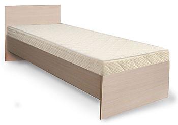 Кровать 1 (90Х200 Жесткое основание из ДСП)