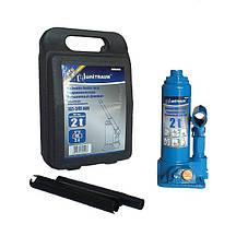 Домкрат бутылочный Unitraum UN90204S 2 т (пластиковый кейс)