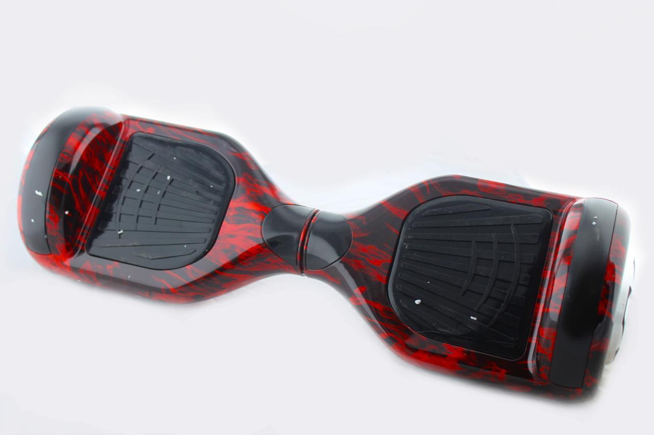 """Гироборд 6.5"""" A3 №8 Красная молния (АКБ Samsung) APP+BT"""