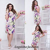 Женское летнее платье №335-3 (р.48-54), фото 1