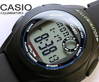 Мужские часы CASIO F-200W-1AE, батарейка 10 лет.