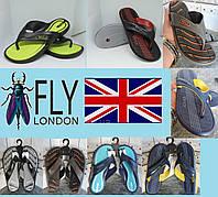 Вьетнамки мужские фирменные - FLY. Великобритания. Ассортимент расцветок.