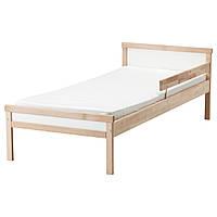 IKEA, SNIGLAR, Каркас кровати с реечным дном, бук, 70x160 см (191.854.33)(S19185433) СНИГЛАР ИКЕА