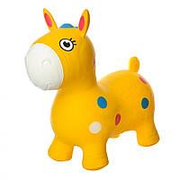 Прыгуны-лошадки MS1582Yellow, 1300г, в кульке, 29-25-10см                                  (Желтый)