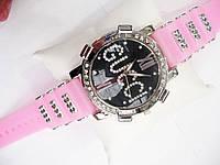 Женские кварцевые наручные часы Gucci на силиконовом ремешке, Pink