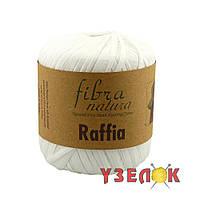 Fibranatura Raffia №116-01 белый