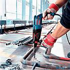 Перфоратор Bosch GBH 2-26 DRE + чемодан + набор 11 буров (0615990L43), фото 3
