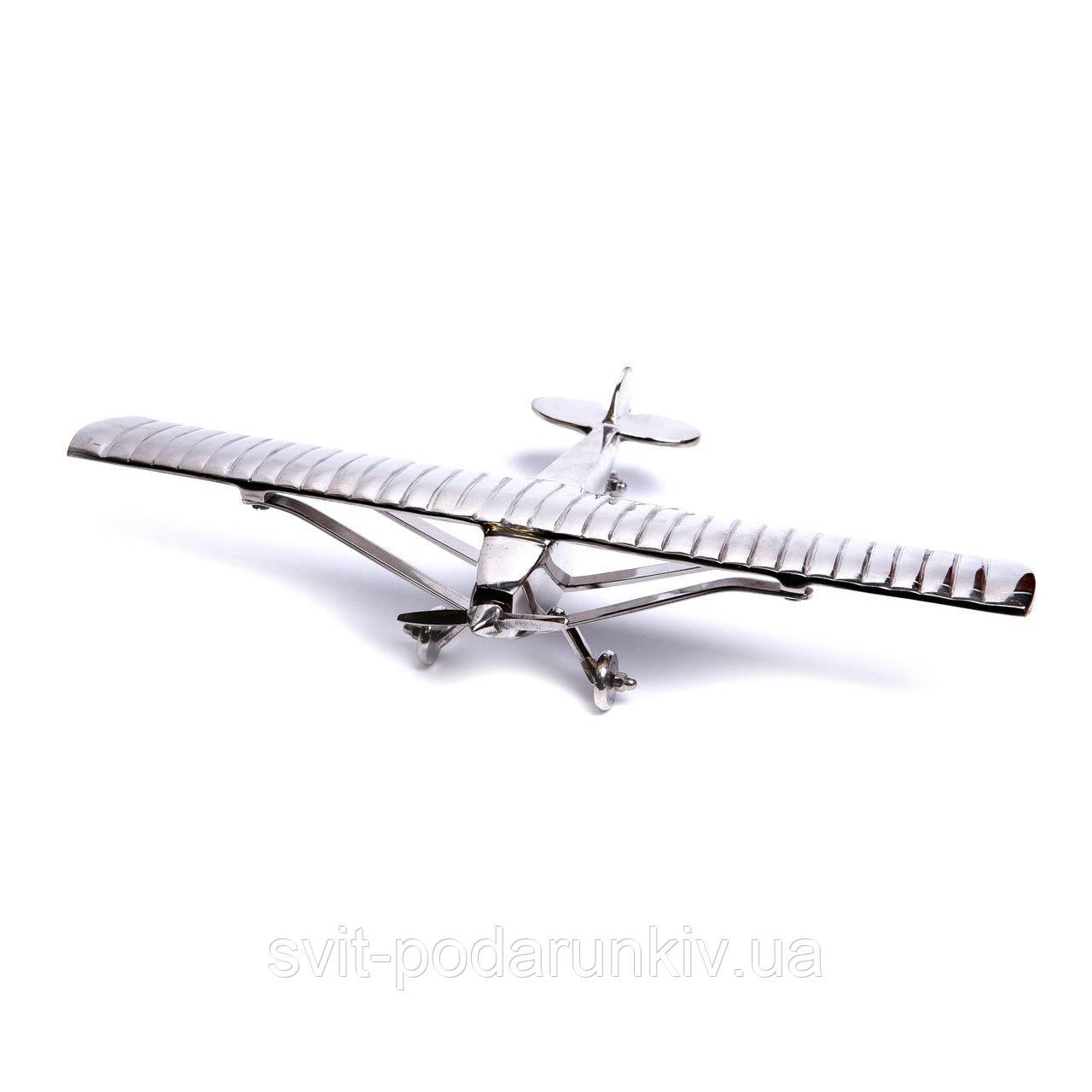 Модель самолета сувенир из металла ANT.1679