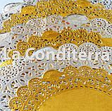Ажурные салфетки, белые, d=32 см (250 шт.), фото 3